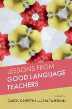 Lessons from Good Language Teachers