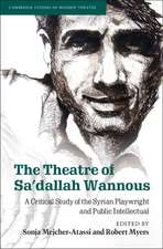 The Theatre of Sa'dallah Wannous