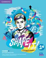 Shape It! Level 1 Combo A Student's Book and Workbook with Practice Extra