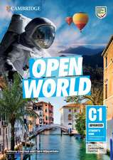 Open World Advanced Student's Book without Answers