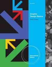 Graphic Design Basics, International Edition (with Premium Web Site Printed Access Card)