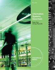 Information Systems Essentials, International Edition (with Printed Access Card)