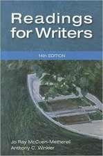 READINGS FOR WRITERS REV/E 14/