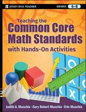 Teaching the Common Core Math Standards with Hands–On Activities, Grades 6–8