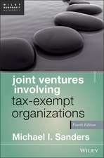 Joint Ventures Involving Tax–Exempt Organizations