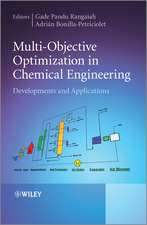 Multi–Objective Optimization in Chemical Engineering: Developments and Applications