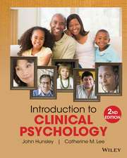 Introduction to Clinical Psychology: An Evidence–Based Approach