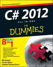 C# 5.0 All–in–One For Dummies