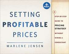 Setting Profitable Prices, + Website:  A Step-By-Step Guide to Pricing Strategy--Without Hiring a Consultant