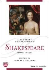 A Feminist Companion to Shakespeare
