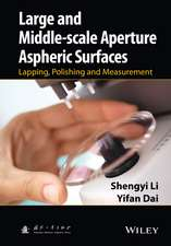 Large and Middle–scale Aperture Aspheric Surfaces: Lapping, Polishing and Measurement