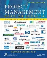 Project Management, Best Practices