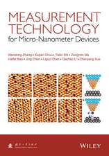 Measurement Technology for Micro–Nanometer Devices