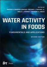 Water Activity in Foods
