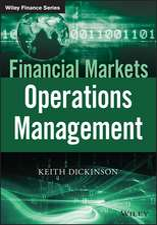 Financial Markets Operations Management