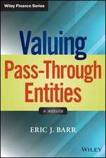 Valuing Pass–Through Entities