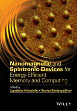 Nanomagnetic and Spintronic Devices for Energy–Efficient Memory and Computing