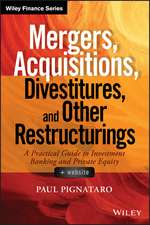 Mergers, Acquisitions, Divestitures, and Other Restructurings: + Website