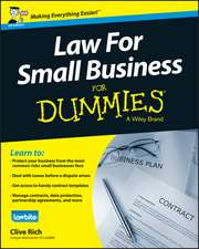 Law for Small Business For Dummies – UK