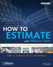 How to Estimate with RSMeans Data