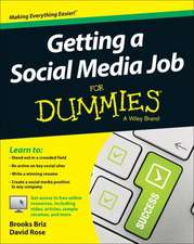 Getting a Social Media Job for Dummies:  Unlocking the Secret Strategy of Search Engines