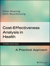 Cost–Effectiveness Analysis in Health: A Practical Approach