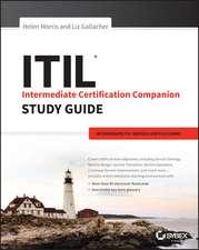 ITIL Intermediate Certification Companion Study Guide