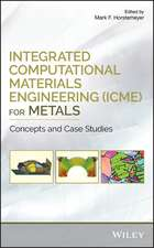 Integrated Computational Materials Engineering (ICME) for Metals: Concepts and Case Studies