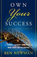 Own Your Success (Paperback Pod)