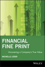 Financial Fine Print: Uncovering a Company′s True Value