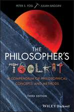 The Philosopher′s Toolkit: A Compendium of Philosophical Concepts and Methods