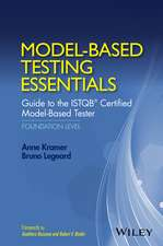 Model–Based Testing Essentials – Guide to the ISTQB Certified Model–Based Tester