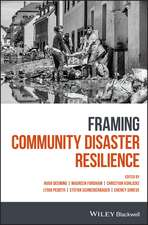 Framing Community Disaster Resilience