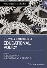 The Wiley Handbook of Educational Foundations