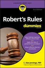Robert′s Rules For Dummies