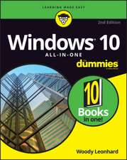 Windows 10 All–In–One For Dummies