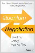 Quantum Negotiation: Are You Getting What You Need?