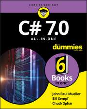 C# 7.0 All–in–One For Dummies