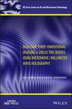 Real–Time Three–Dimensional Imaging of Dielectric Bodies Using Microwave/Millimeter Wave Holography