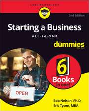 Starting a Business All–in–One For Dummies