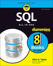SQL All–in–One For Dummies