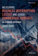 Measuring Business Interruption Losses and Other Commercial Damages: An Economic Approach