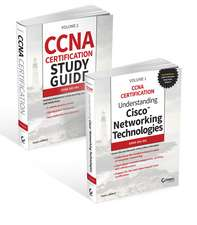 Cisco CCNA Certification: Exam 200–301 2 Volume Set