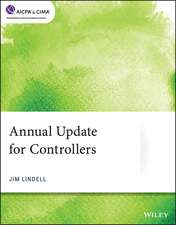 Annual Update for Controllers