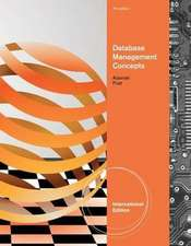 Database Management Concepts, International Edition