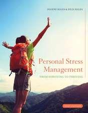 Personal Stress Management