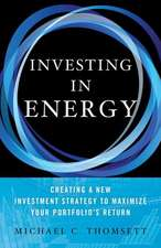 Investing in Energy: Creating a New Investment Strategy to Maximize Your Portfolio's Return