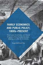 Family Economics and Public Policy, 1800s–Present: How Laws, Incentives, and Social Programs Drive Family Decision-Making and the US Economy