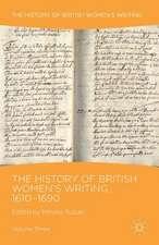 The History of British Women's Writing, 1610-1690: Volume Three