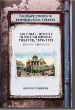 Cultural Identity in British Musical Theatre, 1890–1939